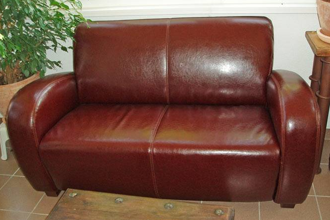 cleaning pu leather chair